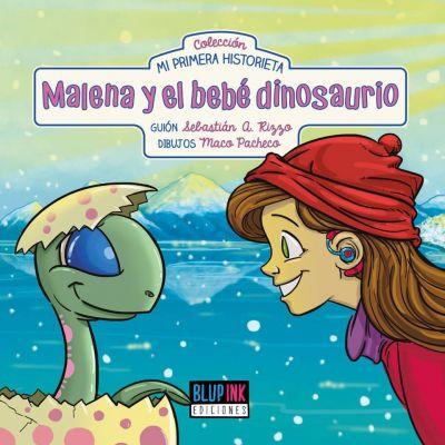 Malena y el bebé dinosaurio